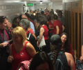 Crowds of Parents Flood the Halls of the State Capital in California but their Protests fall on Deaf Ears