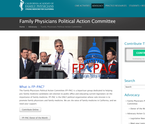 Sen. Pan & The PAC Family Physicians