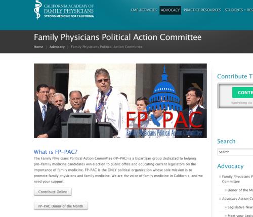 Sen. Pan & The PAC Family Physicians